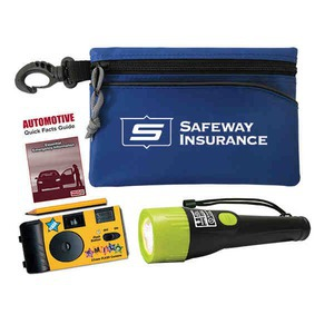 Custom Designed Car Emergency Kits with Cameras