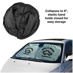 Custom Imprinted Car Sunshades