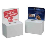 Custom Imprinted Cardboard Suggestion Boxes