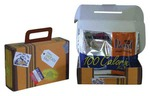 Custom Printed Cardboard Suitcase Boxes