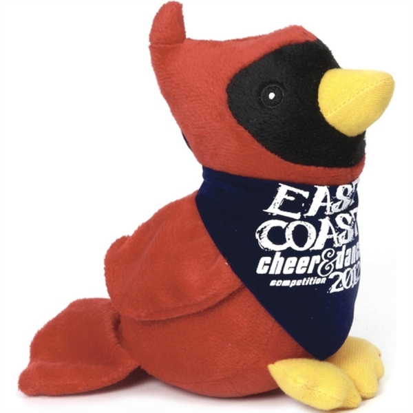 Custom Imprinted Cardinal Bird Stuffed Toys