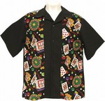 Custom Printed Casino 50s Party Bowling Shirts!
