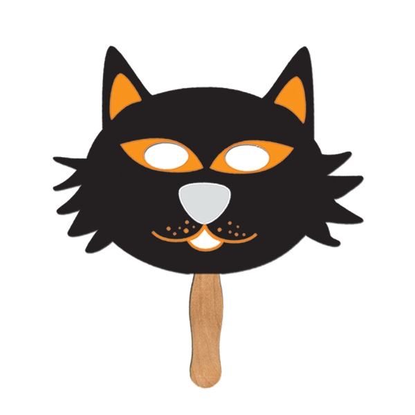 Customized Cat Halloween Fan Masks!