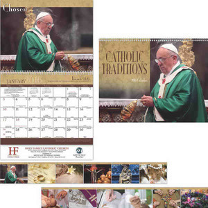 Custom Printed Catholic Traditions Appointment Calendars!