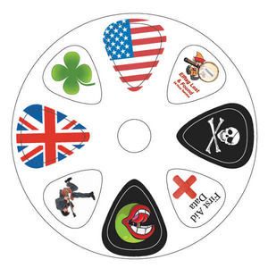 Guitar Pick Cards -