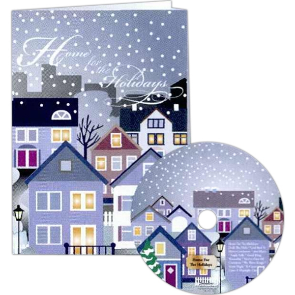 Christmas Themed Promotional Items - Christmas Holiday Music Cds