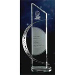 Crystal Awards - Stainless Crystal Awards