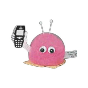 Computer and Technology Themed Weepuls - Cell Phone Holding Weepuls
