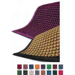 Custom Imprinted Checker Inlaid Graphic Logo Floor Mats!