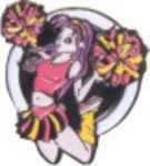 Custom Imprinted Cheerleader Resin
