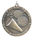 Custom Printed Cheerleading Shooting Star Medals
