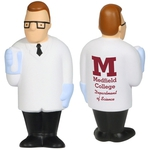 Custom Printed Scientist Shaped Stress Relievers!