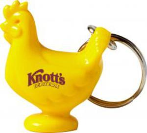 Custom Imprinted Chicken Keychains