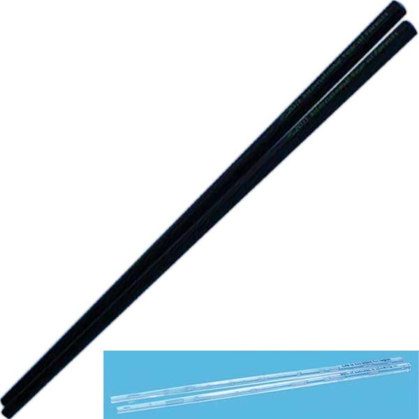 Custom Printed Plastic Traditional Block End Chopsticks!