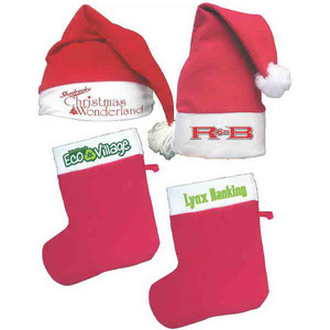 Custom Imprinted Christmas Holiday Felt Stockings