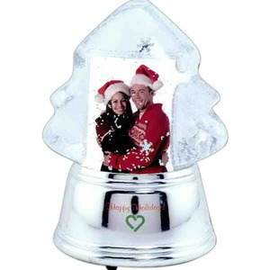 Stock Snow Globes - Christmas Tree Shaped Stock Snow Globes