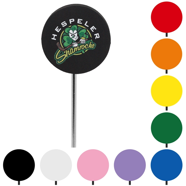 Customized Soft Foam Round Antenna Toppers