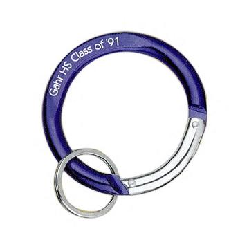 Custom Imprinted Circle Shaped Carabiners!