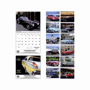 Custom Imprinted Classic Cars Wall Calendars