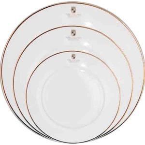 Custom Imprinted Classic Rim Dinnerware Plates!