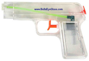 Custom Imprinted Clear Water Pistols