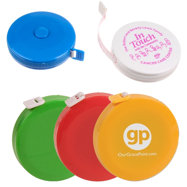 Custom Decorated Cloth Tape Measure Tools!