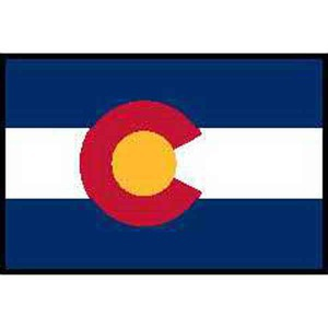 Colorado State Shaped Items - Colorado State Flags