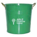 Custom Imprinted Colored Flower Buckets