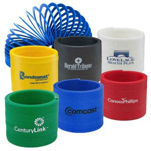 Custom Imprinted Colored Plastic Slinkys