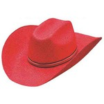 Custom Imprinted Colored Straw Cowboy Hats