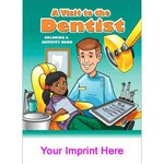 Custom Imprinted Dentist Themed Coloring Books