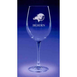 Custom Imprinted Colossal Wine Drinkware Crystal Gifts