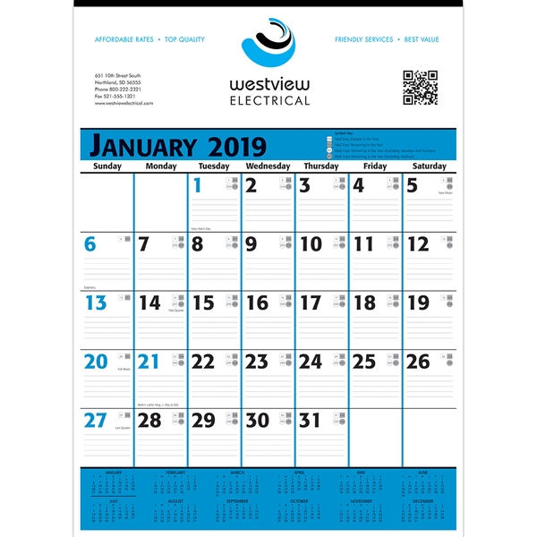 Personalized 12 Sheet Custom Calendars