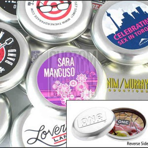 Custom Imprinted Condom Tins!