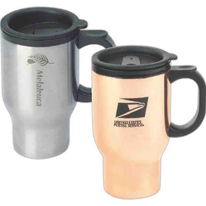 Copper Insulated Travel Mugs -