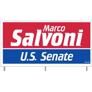 Corrugated Plastic Political Election Campaign Signs - Corrugated Plastic Political Election Campaign Signs with Steel Rods