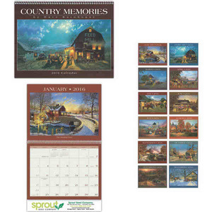 Appointment Calendars - Country Memories Appointment Calendars