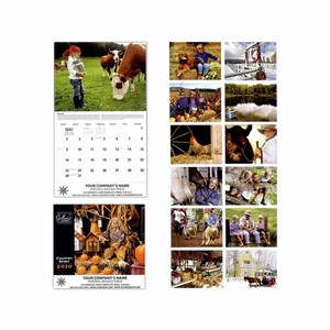 Custom Imprinted Country Spirit Wall Calendars