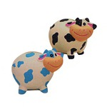 Custom Imprinted Cow Bank