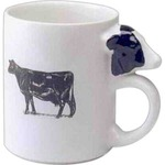 Custom Printed Cow Handle Shaped Mugs!