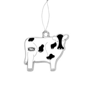 Customized Cow Plush Ornaments!