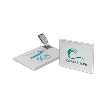 Custom Imprinted Credit Card Shaped USB Drives