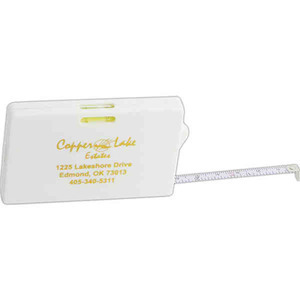Personalized Credit Card Size Tape Measure Tools!