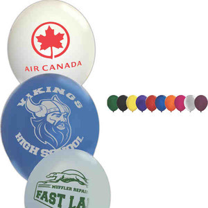 Custom Imprinted Crystal Latex Balloons