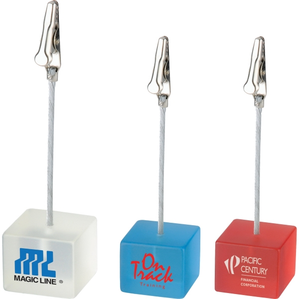 1 Day Service Desk Accessories - 1 Day Service Cube Memo Holders