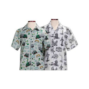 Custom Imprinted Hawaiian Shirts with Custom Patterns!