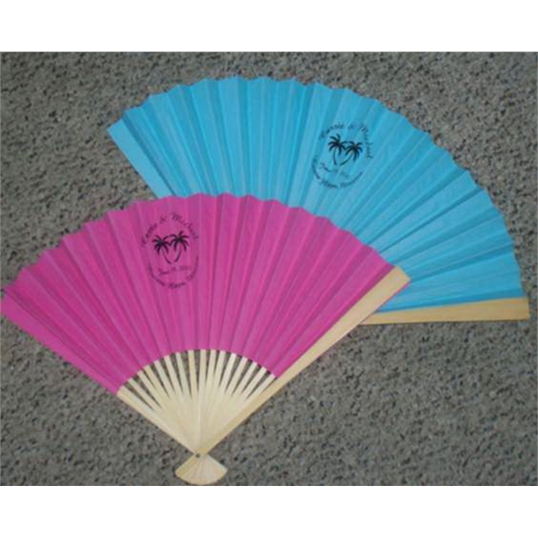 Custom Printed Asian Themed Folding Fans!