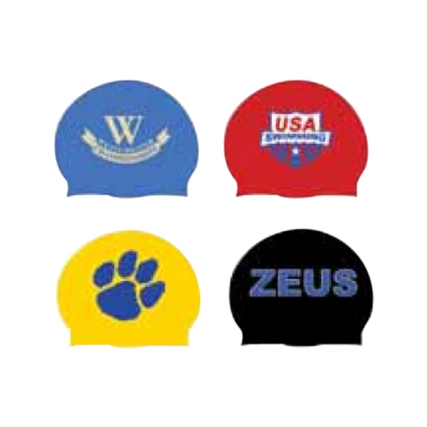 Swimming Sport Themed Promotional Items - Swimming Sport Swim Caps