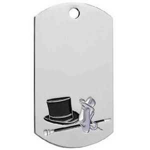 Sports Dog Tags - Dance Dog Tags