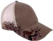 Custom Imprinted Baseball Cap Stock Design Mesh Back!